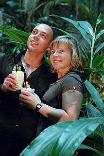 Valentinstag unter Palmen in der Biosphäre Potsdam