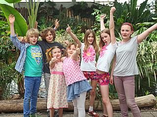 Kinder, Fest, Biosphäre