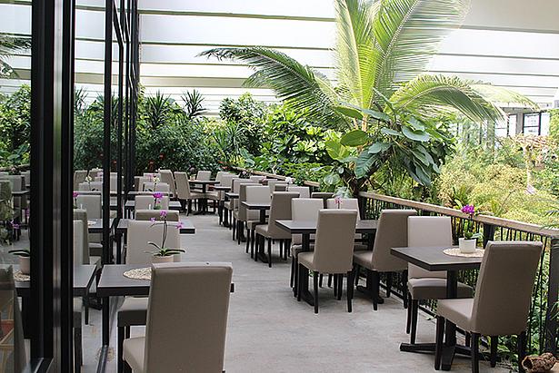 Restaurant in der Biosphäre Potsdam