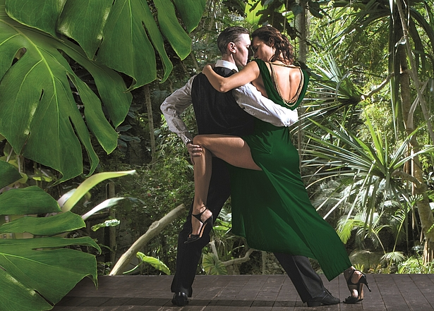 Salsa tanzen in der Biosphäre Potsdam
