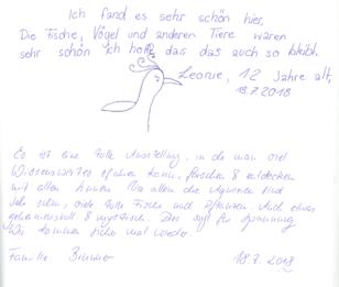 Gästebuch, Besucher, Potsdam