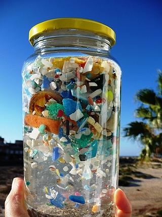 Plastikmüll im Meer Biosphäre Potsdam