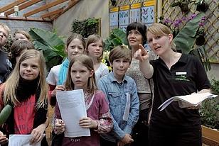 Führung Schüler Biophäre Potsdam