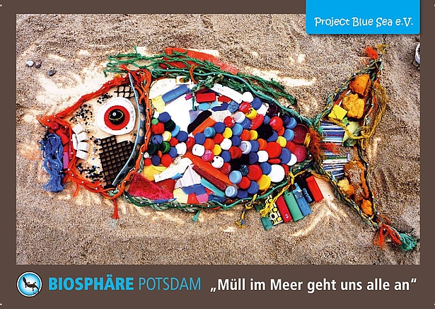 Ausstellung Müll im Meer Biosphäre