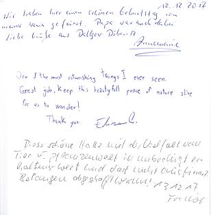Gäste, Tropen, Potsdam