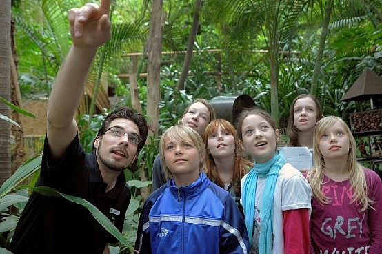 Guided Tours in the Biosphere Potsdam