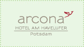 Logo arcona - Hotel am Havelufer Potsdam