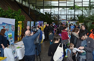 Feriencamp Messe in der Orangerie