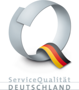 Logo of the Service Quality Germany